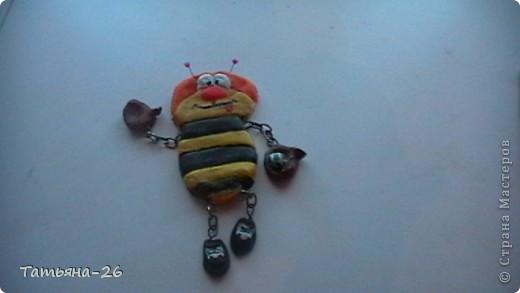 Веселая пчелка у меня получилась по МК Fanta MIX фото 3