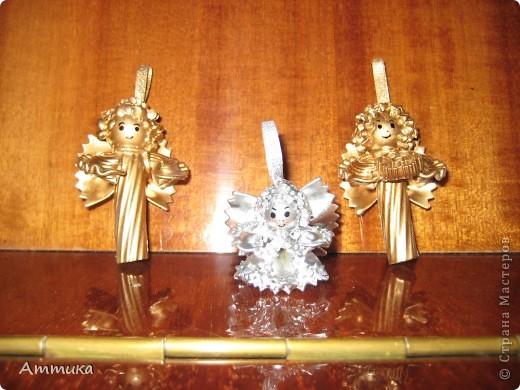 Ангелочки из макарон фото 1