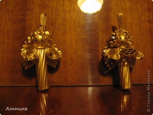 Ангелочки из макарон фото 3