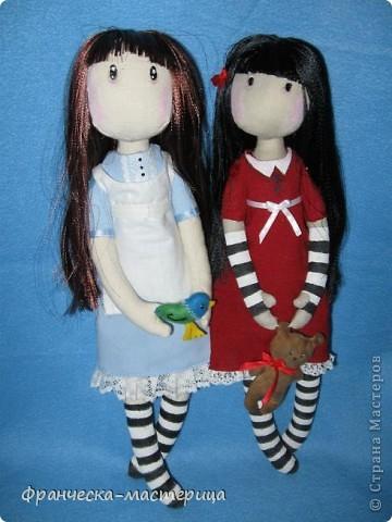 Всем привет! Дорогие посетители СМ, представляю вам вторую куколку СП по имени Элиза. Рост девочки -38см, сшита из двунитки, набивка- холоффайбер. фото 3