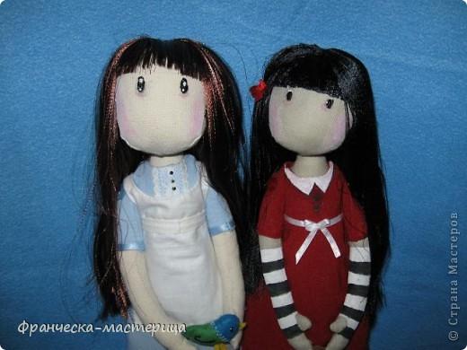 Всем привет! Дорогие посетители СМ, представляю вам вторую куколку СП по имени Элиза. Рост девочки -38см, сшита из двунитки, набивка- холоффайбер. фото 4