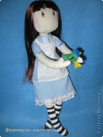 Всем привет! Дорогие посетители СМ, представляю вам вторую куколку СП по имени Элиза. Рост девочки -38см, сшита из двунитки, набивка- холоффайбер. фото 2