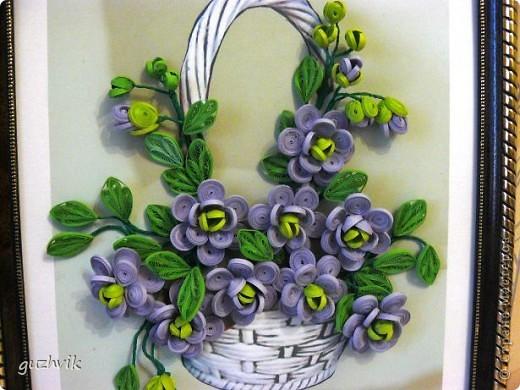 Картина сиреневых цветов. Приветик из Одессы!!! Я уже к Вам с букетом, я еще не делала такие большие цветы. Вообще это первый мой такой большой букет. фото 2