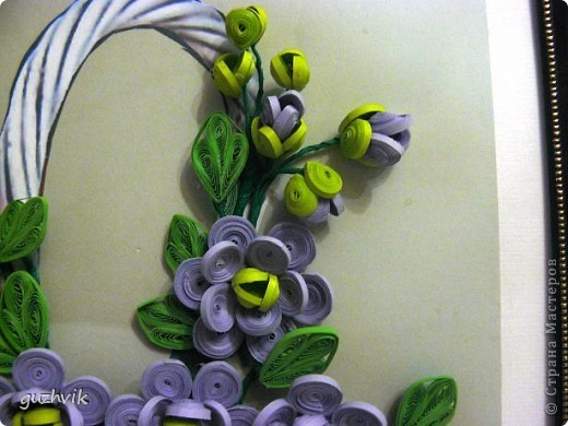 Картина сиреневых цветов. Приветик из Одессы!!! Я уже к Вам с букетом, я еще не делала такие большие цветы. Вообще это первый мой такой большой букет. фото 8