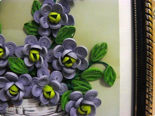 Картина сиреневых цветов. Приветик из Одессы!!! Я уже к Вам с букетом, я еще не делала такие большие цветы. Вообще это первый мой такой большой букет. фото 9