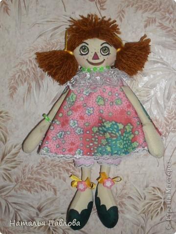 куклы сшиты по выкройке Pumpkin Petty фото 3