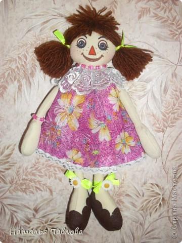 куклы сшиты по выкройке Pumpkin Petty фото 2