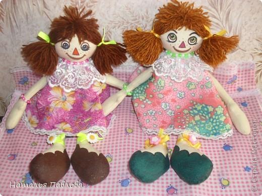 куклы сшиты по выкройке Pumpkin Petty фото 1