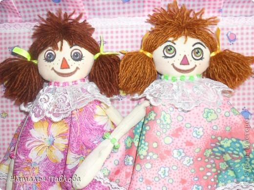 куклы сшиты по выкройке Pumpkin Petty фото 4