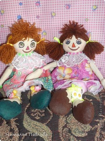 куклы сшиты по выкройке Pumpkin Petty фото 5