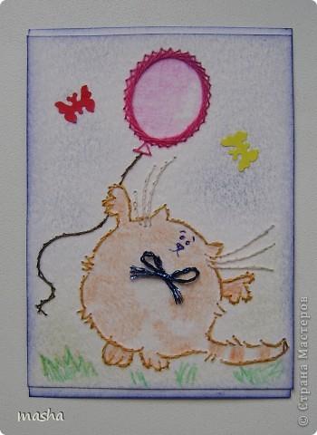 Попались очень красивые отрисовки, что сразу появилось желание сделать еще карточки АТС, но когда их срисовала на кальку поняла, что они великоваты для АТС. Но все равно вышила, эти картиночки отправлю девочкам в подарок, может им найдется применение (на открыточки, коробочки), я буду только рада! фото 12