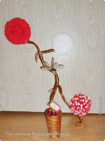 Такое чудо-дерево родилось в творческом процессе! фото 1