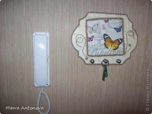 Здравствуйте, может кому понравится моя ключница. фото 9