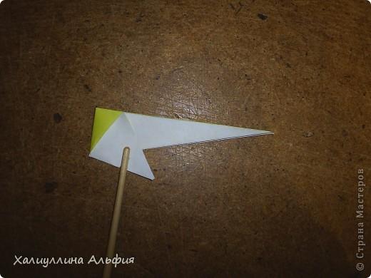 Предлагаю Вашему вниманию мастер класс по изготовлению звезды эйфеля, автором которой является уже не раз упомянутый в моих предыдущих публикациях  немецкий оригами-дизайнер Ганс Вернер-Гут. Она ОЧЕНЬ легка в сборке! Предлагаю и Вам убедиться в этом) фото 13