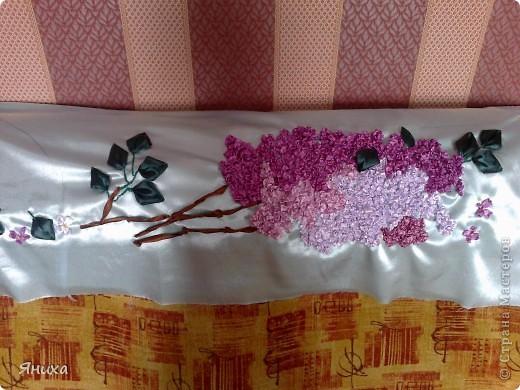 Одна из первых моих работ по вышивке лентами. фото 4