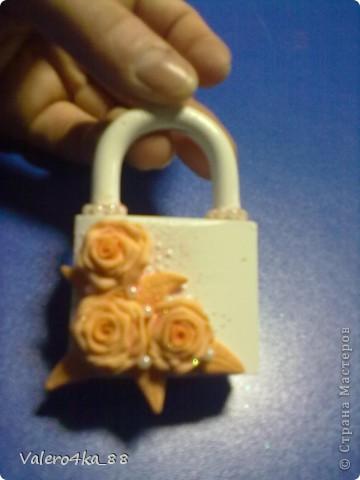 Декор предметов Свадьба Лепка Небольшое дополнение к набору Бисер Ленты Пластика фото 3.