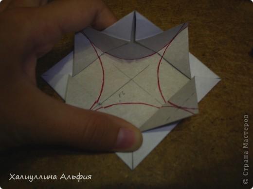 Совсем недавно, в своем блоге я публиковала мастер-класс по изготовлению подобной модели того же автора под названием Jump. Но шарик был открытый (с отверстиями). Этот, как вы видите, полностью закрыт. фото 23