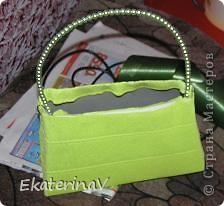 В тон к букету с саккурой сделала сумочку. Попробую описать процесс. фото 3