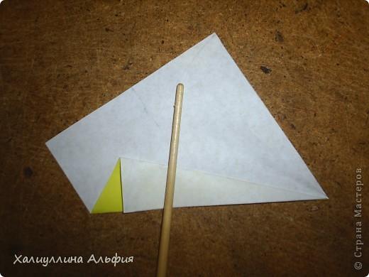 Предлагаю Вашему вниманию мастер класс по изготовлению звезды эйфеля, автором которой является уже не раз упомянутый в моих предыдущих публикациях  немецкий оригами-дизайнер Ганс Вернер-Гут. Она ОЧЕНЬ легка в сборке! Предлагаю и Вам убедиться в этом) фото 6