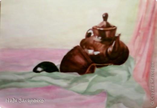 Здравствуйте, дорогие мастерицы! Сегодня решила показать вам свой натюрморт. фото 1