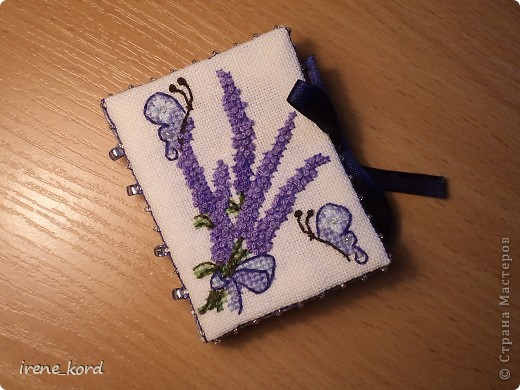 Lavender Bouquet Needlebook от Faby Reilly фото 1