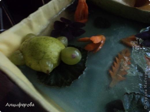Поделка из овощей и фруктов | Страна