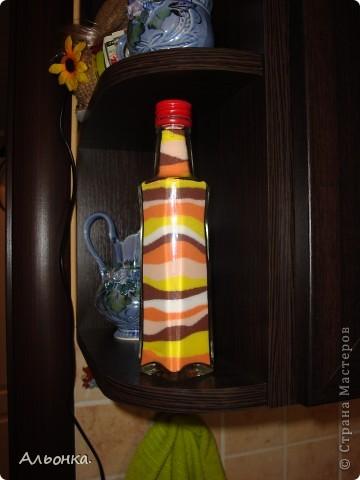 Вот какая бутылочка получилась у меня фото 2