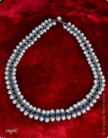 Жаль не передать этот необыкновенно красивый оттенок серо-серебренного цвета, а так очень даже миленькое получилось.   фото 1