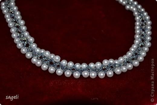 Жаль не передать этот необыкновенно красивый оттенок серо-серебренного цвета, а так очень даже миленькое получилось.   фото 2