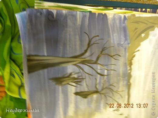 """Общий рисунок (все рисунки рисовали вместе с Неадекватной)))) """"Вечерний закат на море"""" фото 5"""