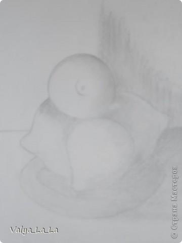 Розочка на черном картоне,карандаши. фото 6