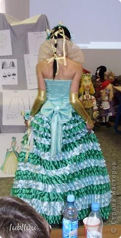 Мой дипломный проект-2009 год!Костюм Венецианской Дамы!Много было приложено усилий!Но было интересно и думаю получилось не плохо!!!!!!!!!!!!! фото 8