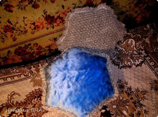 Основа - салфетка, сделанная на рамке. фото 3