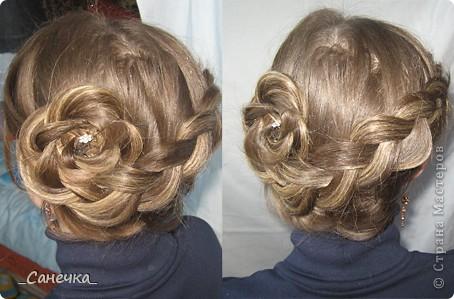 Прически на длинных волосах. Учусь на подружках и своих родных )) фото 2