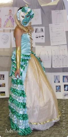 Мой дипломный проект-2009 год!Костюм Венецианской Дамы!Много было приложено усилий!Но было интересно и думаю получилось не плохо!!!!!!!!!!!!! фото 10