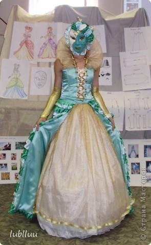 Мой дипломный проект-2009 год!Костюм Венецианской Дамы!Много было приложено усилий!Но было интересно и думаю получилось не плохо!!!!!!!!!!!!! фото 9
