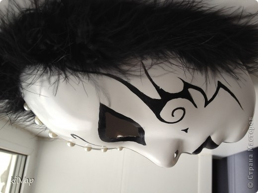 Черно-белый маскарад фото 2