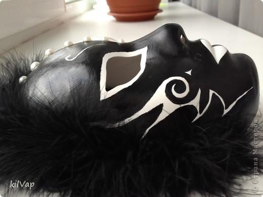Черно-белый маскарад фото 3