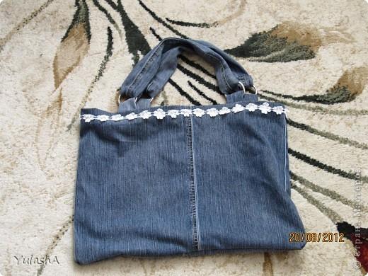 А вот и моя сумка (не судите строго)! фото 2