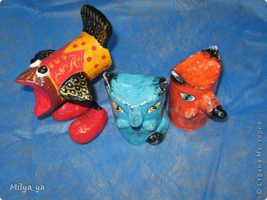 """Вот такие игрушки я делаю с детьми в кружке """"Бумажное творчество"""" фото 4"""