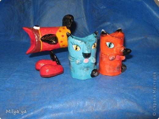 """Вот такие игрушки я делаю с детьми в кружке """"Бумажное творчество"""" фото 1"""