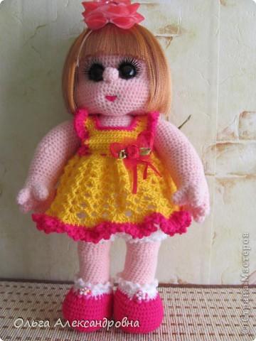 Дорогие мастерицы, я к вам опять со своей куколкой и небольшим декупажем. фото 8