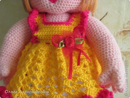 Дорогие мастерицы, я к вам опять со своей куколкой и небольшим декупажем. фото 11