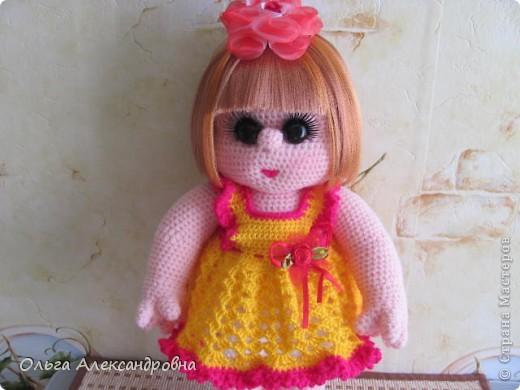 Дорогие мастерицы, я к вам опять со своей куколкой и небольшим декупажем. фото 13