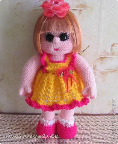 Дорогие мастерицы, я к вам опять со своей куколкой и небольшим декупажем. фото 14