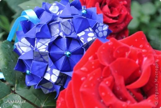 Автор Наталья Романенко http://kusudama.info/2012/07/queen-s-crown-tutorial/ Размер бумаги 8,3на8,3 Размер кусудамы около 10см