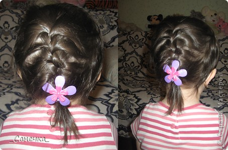 Прически на длинных волосах. Учусь на подружках и своих родных )) фото 3