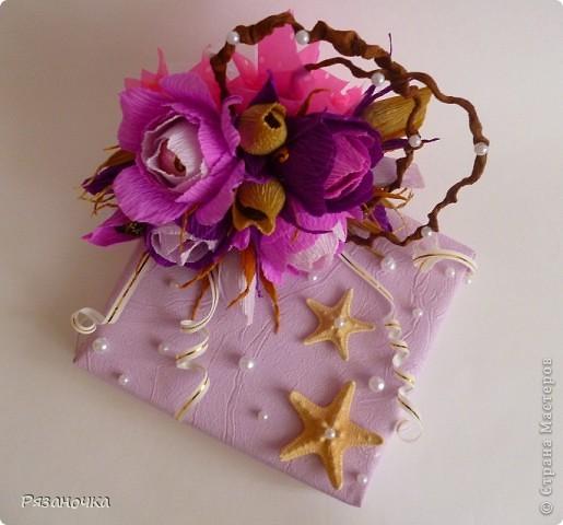 Оформила подарок. Внутри фигурный шоколад. фото 3
