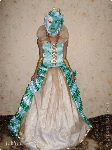 Мой дипломный проект-2009 год!Костюм Венецианской Дамы!Много было приложено усилий!Но было интересно и думаю получилось не плохо!!!!!!!!!!!!! фото 1
