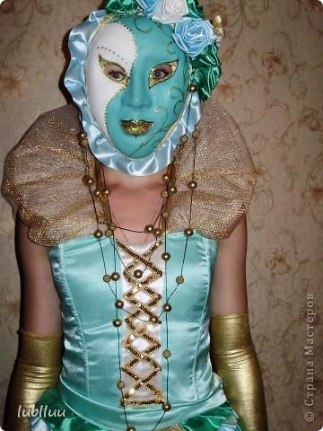 Мой дипломный проект-2009 год!Костюм Венецианской Дамы!Много было приложено усилий!Но было интересно и думаю получилось не плохо!!!!!!!!!!!!! фото 3